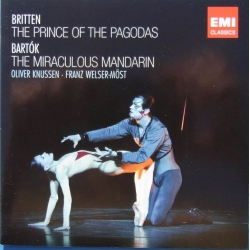 Britten: The Prince of the Pagodas. O. Knussen & Bartok: The Miraculous Manderin. Welser-Möst. LPO. 2 CD. EMI