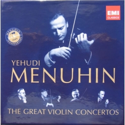 Yehudi Menuhin: The Great Violin Concertos. 10 CD. EMI
