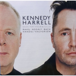 Kennedy & Harrell. Duos for violin & Cello. Ravel, Kodaly, Bach, Handel, Halvorsen. 1 CD. EMI