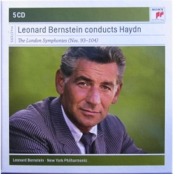 Haydn: Symphonies nos 93-104. (London) Leonard Bernstein. New York Philharmonic. 5 CD. Sony
