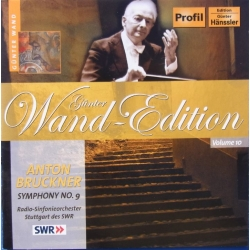 Bruckner: Symfoni nr. 9. Gunter Wand. SWR SO. 1 cd. Hänssler