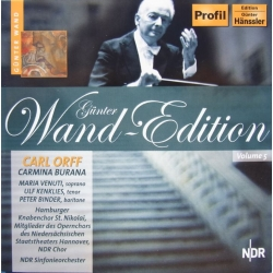 Orff: Carmina Burana. Gunter Wand. NDR SO. 1 CD. Hänssler