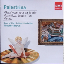 Palestrina: Magnificat & Motets. Timothy Brown, Choir of Claire College. 1 cd. EMI Encore