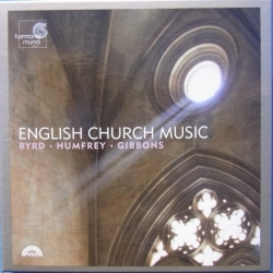 English Church music. Byrd, Humfrey, Gibbons. 3 cd. Harmonia Mundi France