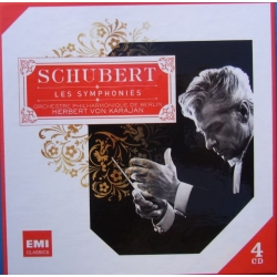 Schubert: The Symphonies. Herbert von Karajan, Berlin Philharmoniker.. 4 CD. EMI