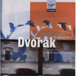 Dvorak: Symfoni nr. 2 & My Home. Czech PO. Libor Pesek. 1 CD. Virgin