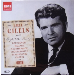 Emil Gilels: The Complete EMI recordings. 9 cd. EMI