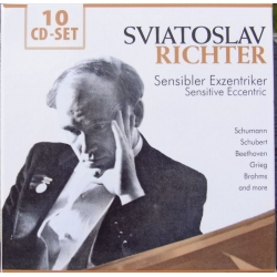 Sviatoslav Richter. A Portrait of an Great Russian pianist. 10 cd