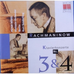 Rachmaninov: Piano Concertos no 3 & 4. Peter Rössel, Kurt Sanderling. 1 cd. Berlin Classics