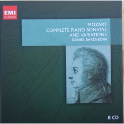 Mozart: Complete piano sonatas and variations. Daniel Barenboim. 8 cd. EMI