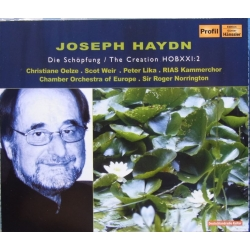 Haydn: The Creation. Roger Norrington, Christiane Oetze, Scot Weir, Peter Lika. Chamber Orchestra of Europa. 2 CD. Hänssler