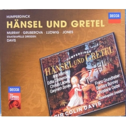 Humperdinck: Hansel und Gretel. Murray, Gruberova, Ludwig. Colin Davis. 2 cd. Decca