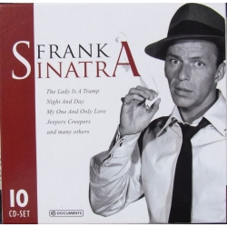 Frank Sinatra. A Portrait of a Great singer. 10 CD. Documents