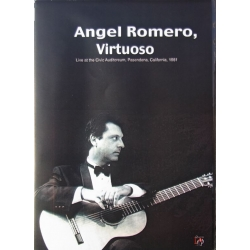 Angel Romero Guitar Virtuoso. 1 DVD. Amado
