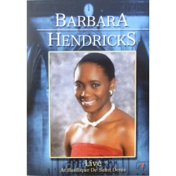 Barbara Hendricks Live, at Basilique De Saint Denis. 1 DVD. Amado