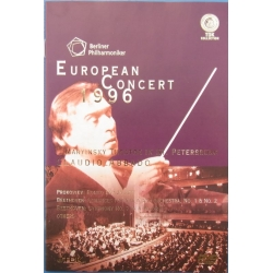 European Concert 1996. Claudio Abbado, Berlin Philharmoniker in St. Petersburg. 1 DVD TDK