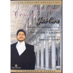 Jose Cura. In Passione Domini Concert. 1 DVD. Pan Dream