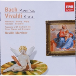 Bach: Magnificat. & Vivaldi: Gloria. Marriner, Hendricks, Murray. 1 cd. EMI. Encore