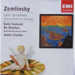 Zemlinsky: Lyric Symphony. Bo Skovhus, Isokoshi, James Colon. 1 cd. EMI. Encore