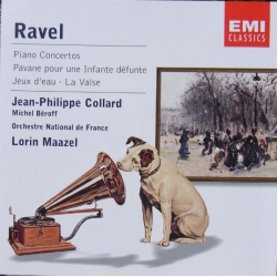 Ravel: Piano Concertos nos. 1 & 2. Jean-Philippe Collard, Lorin Maazel, Orchestra National de France. 1 CD. EMI