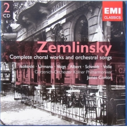 Zemlinsky. Complete choral works and orchestral songs. 2 cd. EMI. Gemini