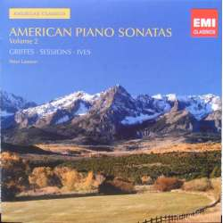 American Piano Sonatas by Griffes, Sessions, Ives. Peter Lawson. (piano) 1 CD. EMI.