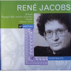 Bach: Cantatas BWV 170 & BWV 161 & 243. & Handel: Arias. Rene Jacobs. 1 CD. Virgin.