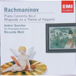 Rachmaninov: Piano Concerto no. 2. & Rhapsody on a Theme by Paganini. Gavrilov, Muti. 1 CD. EMI