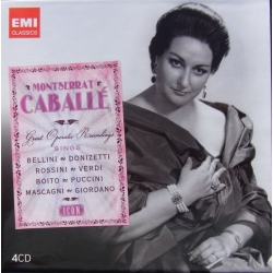 Montserrat Caballe: Great Operatic Recordings. 4 cd. EMI