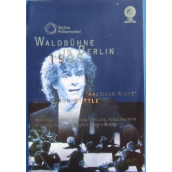 Waldbühne in Berlin 1995: American Night. Bernstein & Gershwin. Berliner Philharmoniker. Simon Rattle. 1 DVD. TDK
