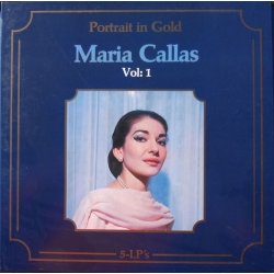 Maria Callas. Portrait in gold. Vol. 1. 5 LP. Cetra