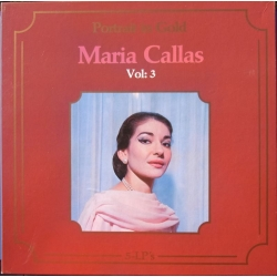 Maria Callas. Portrait in Gold. Vol. 3. 5 LP. Cetra