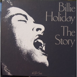 Billie Holiday: The Story. 4 LP. Cetra