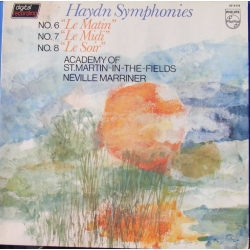 Haydn: Symfoni nr. 6, 7, & 8. Neville Marriner, Academy. 1 LP. Philips 6514076