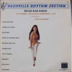 Nashville Rhythm Section. Sigue Bailando. 1 LP.