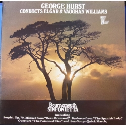 George Hurst conducts Elgar & Vaughan-Williams. 1 LP. Polydor