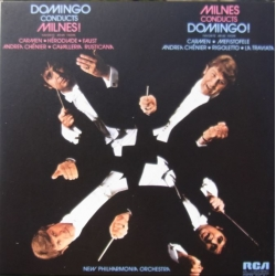 Domingo conducts Milnes. & Milnes conducts Domingo. 1 CD. RCA