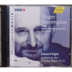 Elgar: Symphony no. 1. SWR SO. Roger Norrington. 1 CD Hanssler