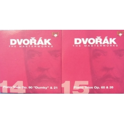 Dvorak: Klavertrios. nr. 1-4. The Solomon Trio. 2 cd. Brilliant Classics