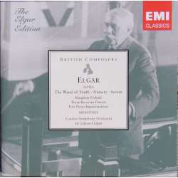 Elgar conducts Edward Elgar, London Symphony Orchestra. 2 CD. EMI