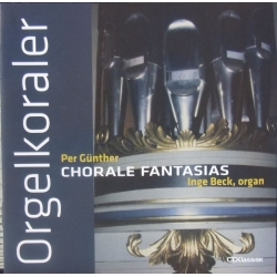 Per Günther: Chorale Fantasies. Inge Beck (orgel). 1 cd. CDK 1024