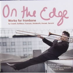 On the Edge. Works for trombone. Niels-Ole Bo Johansen. 1 cd. CDK 1046