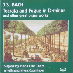 Bach: Toccata and Fugue in D-minor. (organ) Hans Ole Thers. 1 cd. Classico