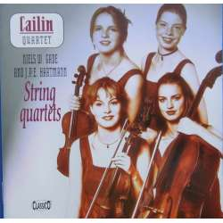 Gade & JPE. Hartmann: String Quartets. Cailin Quartet. 1 CD Classico CD 337. New Copy