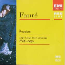 Fauré: Requiem. Philip Ledger. Kings College Choir. 1 CD. EMI. Red Line