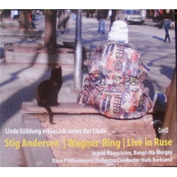 Stig Fogh Andersen i Wagners Ring. Live optagelse fra Ruse. Niels Borksand. 1 CD. Classico