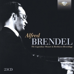 Alfred Brendel. The Legendary Mozart and Beethoven recordings. 23 cd. Brilliant Classics
