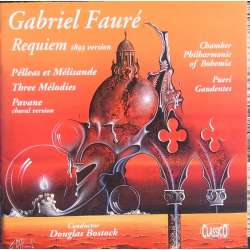Faure: Requiem + Pelleas and Melisande + Pavane. Douglas Bostock. 1 CD. Classico