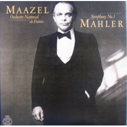 Mahler: Symfoni nr. 1. Lorin Maazel, Orchestre National de France. 1 CD. Sony