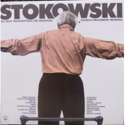 Stokowski and his transcriptions for Orchestra. 1 CD. Sony